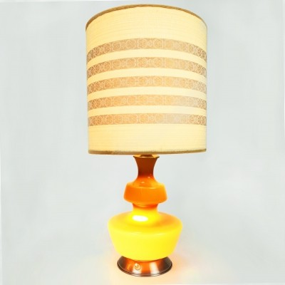 Mid Century Danish design table lamp by Holmegaard, 1960s