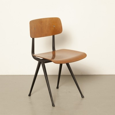 3 x Result dining chair by Friso Kramer for Ahrend de Cirkel, 1950s