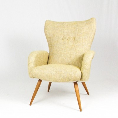 French lounge chair from the 1950s