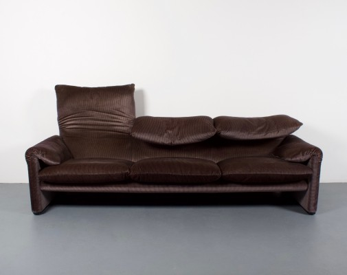 2 x Maralunga sofa by Vico Magistretti for Cassina