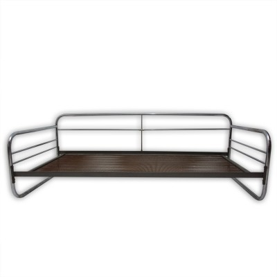 Bauhaus chromed sofa, Czechoslovakia 1930s