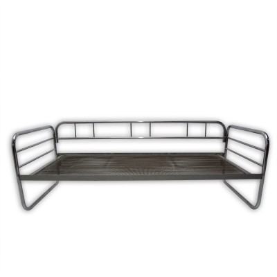 Bauhaus chromed sofa, Czechoslovakia, 1930s