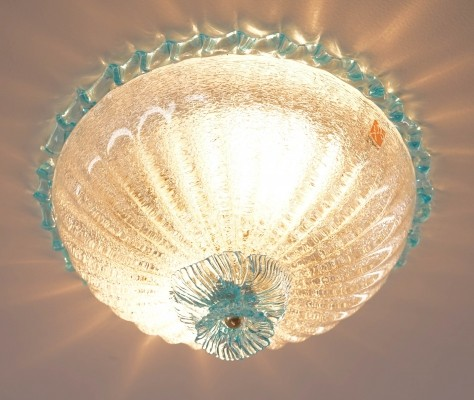 Murano Glass Flush Mount by Barovier & Toso