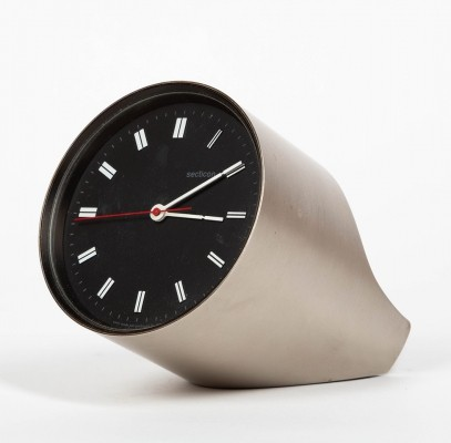 Secticon desk clock by Angelo Mangiarotti for Portescap