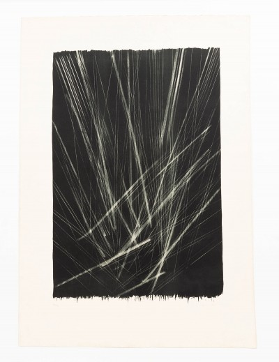 Rare lithography by the master of German abstraction: Hans Hartung