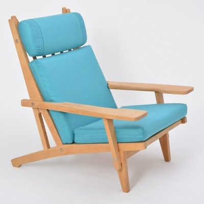 Vintage Ge 375 Easy Chair By Hans J. Wegner For Getama