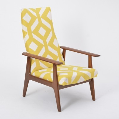 Teak Lounge Chair from TopForm, 1970s
