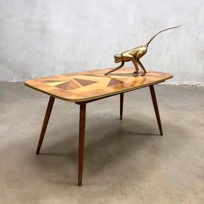 Vintage design coffee table, Italy 1950s