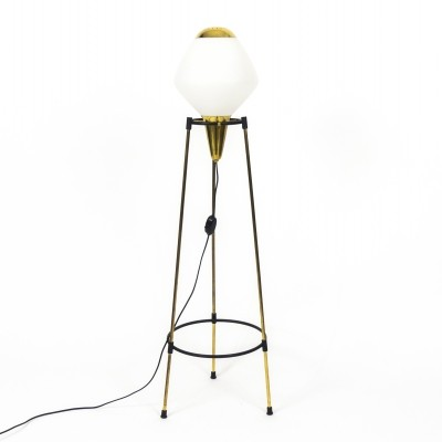 Tripod floor lamp by Stilnovo, 1950s
