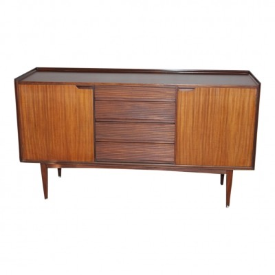 Vintage sideboard in afromosia by Richard Hornby, 1960s