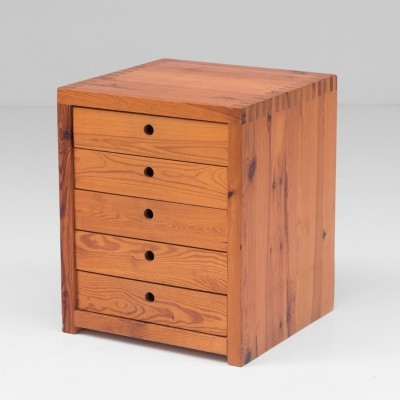 Chest of drawers in pine by Ate van Apeldoorn for Houtwerk Hattem, 1960