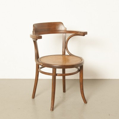 Model 233 arm chair by Gebr. Thonet for Thonet, 1920s