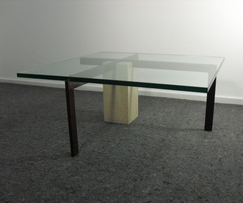 Dutch Design KW1 Coffee Table by Hank Kwint for Metaform, 1980's