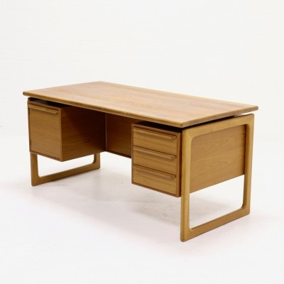Mid-Century Teak Desk by GV Gasvig for GV Møbler, 1960s