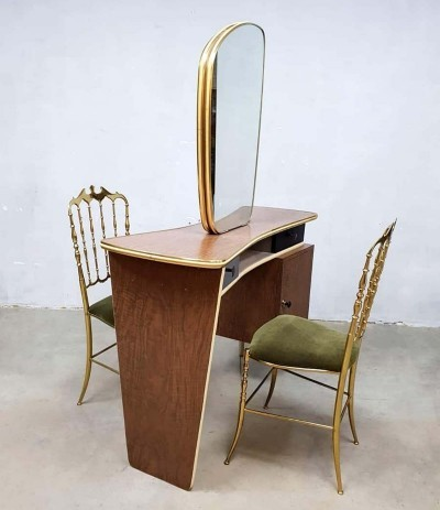 Unique two way vintage dressing table / vanity table