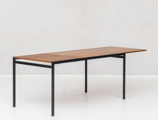Extendable 'TU11' dining table by Cees Braakman for Pastoe