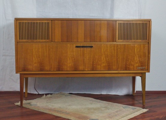 'Lugano 52225' Stereo System by Loewe Opta, 1964