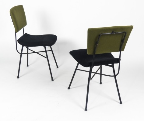 Pair of Modernist Italian Chairs, 1960s