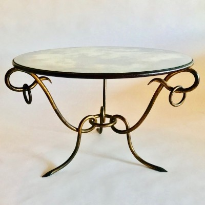 Coffee table by René Drouet, 1940's