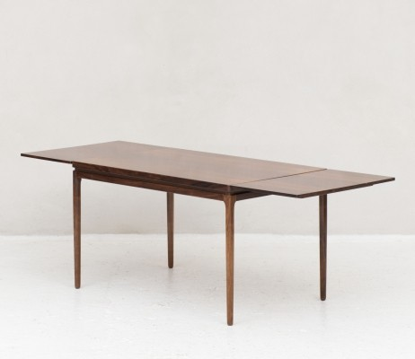 Extendable dining table by Johannes Andersen, Denmark 1960