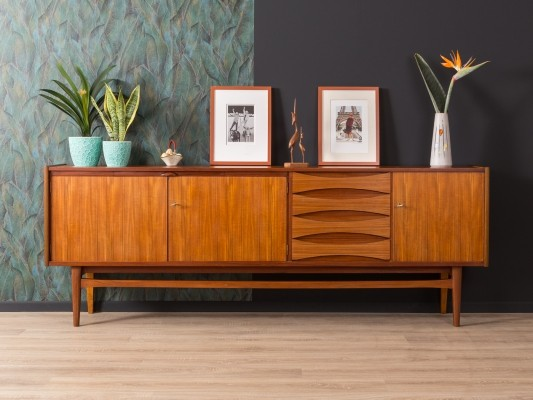 German teak sideboard from the 1950s