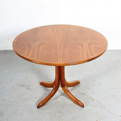 Danish coffee table in mahogany & teak veneer