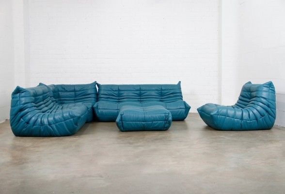 Togo seating group by Michel Ducaroy for Ligne Roset, 1970s