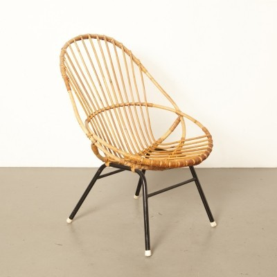 Mens or high model rattan chair by Rohé Noordwolde