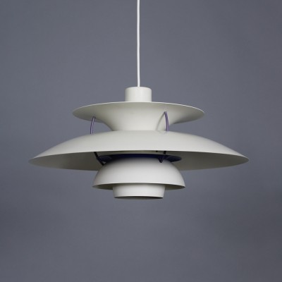 Vintage white PH5 by Poul Henningsen for Louis Poulsen