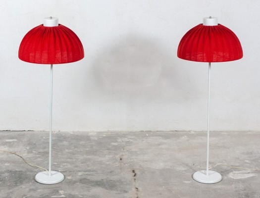 2 high standing desk lamps by Aneta Sweden