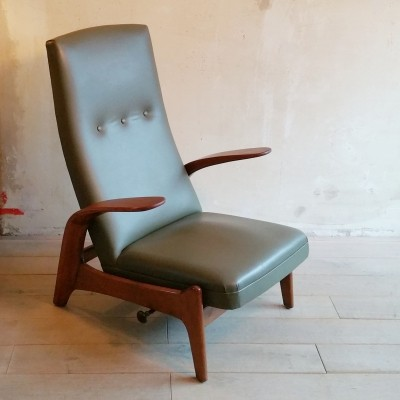 Reclining Lounge Chair by Gimson & Slater, 1960s