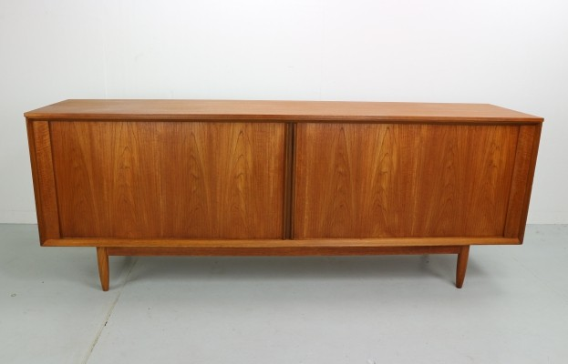 Vintage Tambour Door Sideboard for Austin Suite by Frank Guille, 1960s