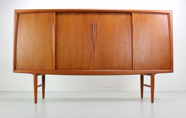 Teak Highboard by Axel Christensen for Aco Møbler, 1960s