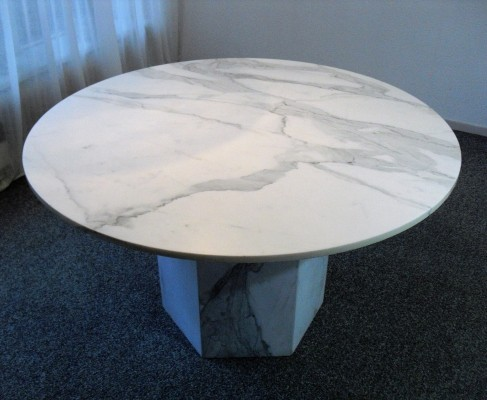 Vintage Marble Dining Table, 1980's