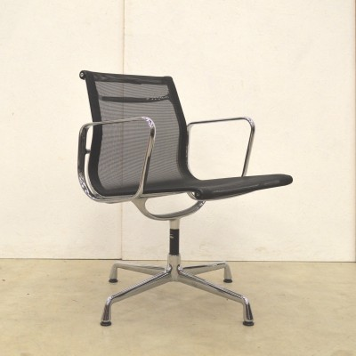 6 x EA108 Netweave office chair by Charles & Ray Eames for Vitra, 1990s