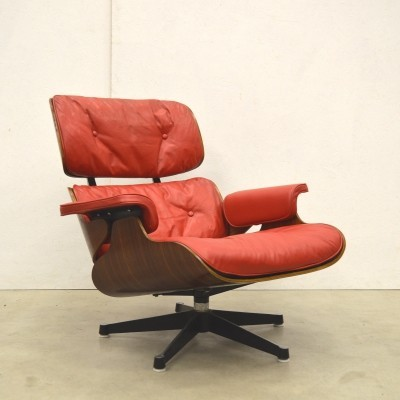 Rare 1st Edition Custom Order Eames Lounge Chair by Herman Miller