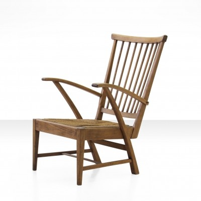 Wooden Armchair, The Netherlands ca 1950s - 1960s