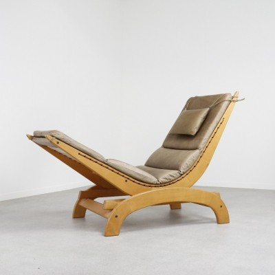 Modernist rocking chaise lounge, 1990s