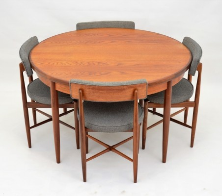 GPlan Astro extendable dining set by Victor Wilkins