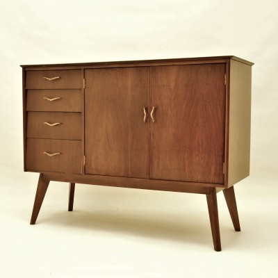 Walnut sideboard by Remploy of Stafford, 1960s