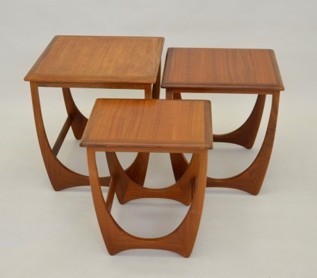 Versatile nest of tables by GPlan, 1960s