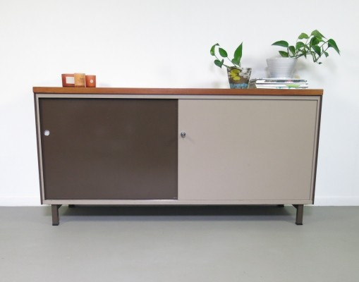Steel industrial sideboard by André Cordemeyer