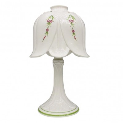 Porcelain Table Lamp by Bassano, Italy 1960s