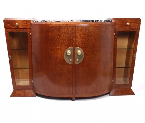 Vintage Art Deco Sideboard, France c1920