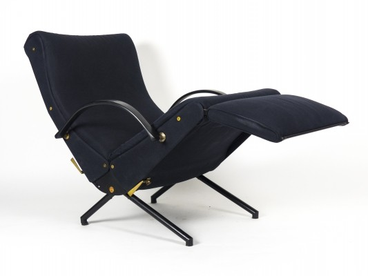 1st Edition P40 Lounge Chair by Osvaldo Borsani for Tecno, 1955