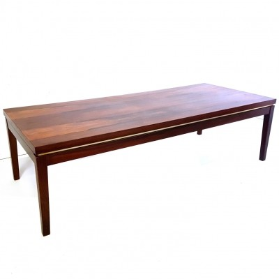 Rosewood coffee table by Marten Franckena for Fristho, Netherlands 1960s