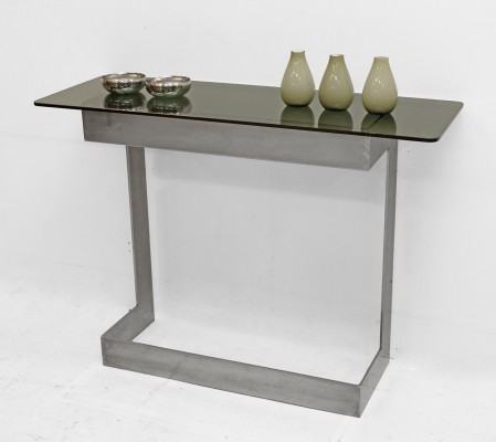 Three console tables, 1970s