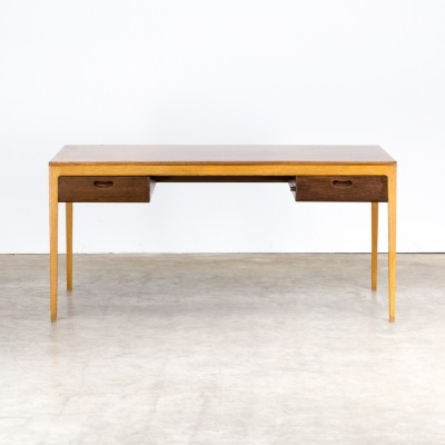 60s Hartmut Lohmeyer executive writing desk for Wilkhahn