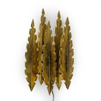 No. 5195 Brass Wall Lamp by Holm Sorensen