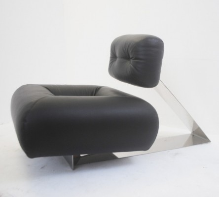 Pair of Rare 'Aran' Lounge Chairs by Oscar Niemeyer